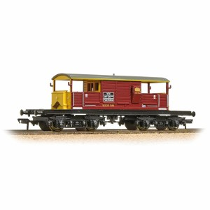Bachmann OO 33-832 25 Ton Queen Mary Brake Van EWS