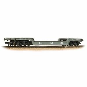 Bachmann OO 33-878A 45T Bogie Well Wagon LMS Grey