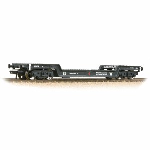 Bachmann OO 33-900F 45T Bogie Well Wagon GWR Grey