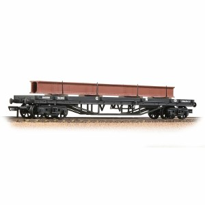 Bachmann OO 33-927A 30T Bogie Bolster GWR Grey - Includes Wagon Load