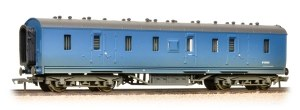 Bachmann OO 34-328A Stanier 50' Period III Full Brake BR Blue  - Weathered