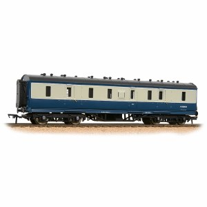 Bachmann OO 34-332 Stanier 50' Period III Full Brake BR Blue & Grey