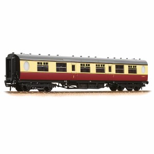 Bachmann OO 34-411 Thompson Composite Corridor BR Crimson & Cream