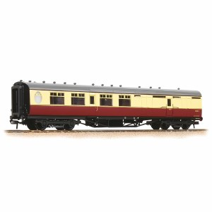 Bachmann OO 34-461 Thompson Brake Third Corridor BR Crimson & Cream