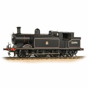 Bachmann OO 35-079 Class E4 0-6-2 32494 BR Lined Black Early Emblem