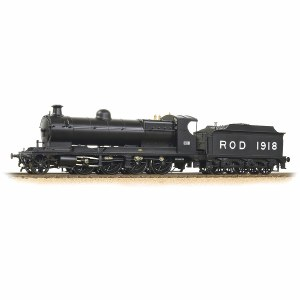 Bachmann OO 35-175 Railway Operating Division (ROD) 1918 2-8-0 War Department Black