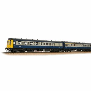 Bachmann OO 35-501 Class 117 3 Car DMU BR Blue & Grey