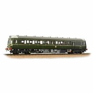 Bachmann OO 35-525 Class 121 Single-Car Unit BR Green Speed Whiskers