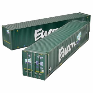 Bachmann OO 36-101 45ft Containers x2 Eucon