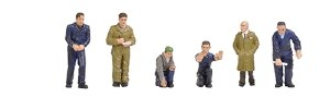 Bachmann OO 36-403 Factory Workers and Foreman