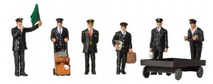 Bachmann OO 36-404 1940/50's Station Staff