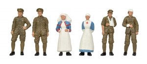 Bachmann OO 36-409 WW1 Medical Staff and Soldiers