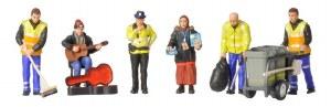 Bachmann OO 36-411 Modern Street Scene Figures