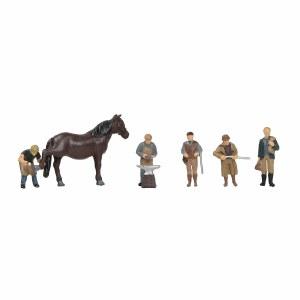 Bachmann OO 36-415 Rural Tradesmen