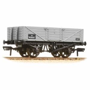 Bachmann OO 37-061C 5 Plank Wagon Wooden Floor BR Grey