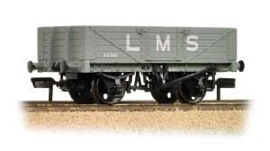 Bachmann OO 37-070 5 Plank Wagon Wooden Floor LMS Grey