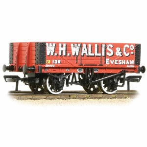 Bachmann OO 37-072 5 Plank Wagon Wooden Floor W. H. Wallis & Co