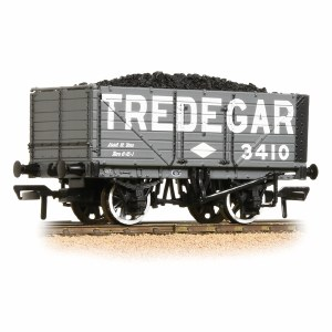 Bachmann OO 37-091 7 Plank End Door Wagon Tredegar - with Wagon Load
