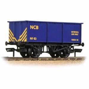 Bachmann OO 37-281 BR 27T Steel Tippler NCB Blue