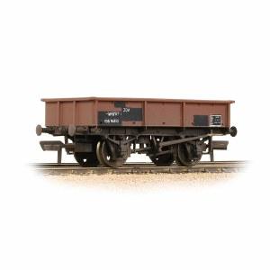 Bachmann OO 37-357 BR 13T Steel Sand Tippler BR Bauxite (Departmental) - Weathered