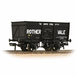 Bachmann OO 37-428 16T Steel Slope-Sided Mineral Wagon 'Rother Vale' Black