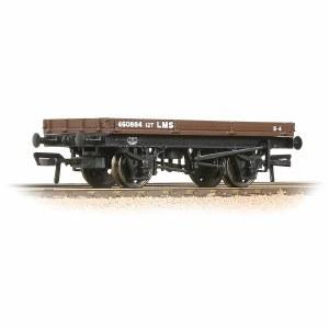 Bachmann OO 37-478A 1 Plank Wagon LMS Bauxite