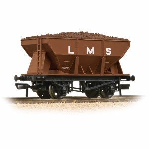 Bachmann OO 37-509 24T Ore Hopper LMS Bauxite - Includes Wagon Load