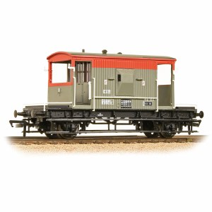 Bachmann OO 37-535C 20 Ton Brake Van BR RailFreight