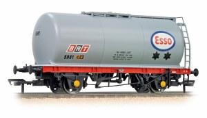 Bachmann OO 37-576C 45 Ton TTA Tank Wagon Esso Grey