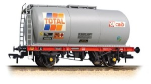 Bachmann OO 37-580A 45 Ton TTA Tank Wagon Total Grey