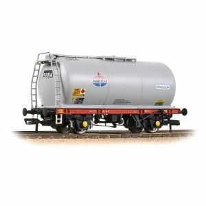 Bachmann OO 37-585A BR 45T TTA Tank Wagon 'Amoco' Grey