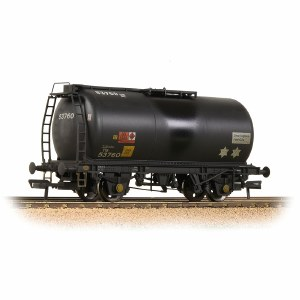 Bachmann OO 37-589 BR 45T TTA Tank Wagon 'Charringtons' Black - Weathered