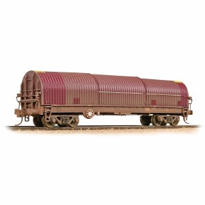 Bachmann OO 37-629A BRA Steel Carrier (Ex-EWS) DB Schenker - Weathered
