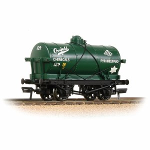 Bachmann OO 37-682A 14T Tank Wagon 'Crossfield Chemicals' Green