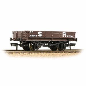 Bachmann OO 37-935 3 Plank Wagon SR Brown