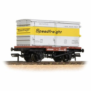 Bachmann OO 37-991 Conflat with BA Vented Container 'Speedfreight'