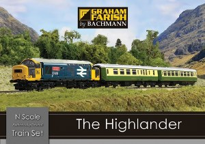 Graham Farish N 370-048 The Highlander Digital Train Set