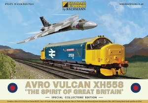Graham Farish N 370-375 Avro Vulcan XH558 Collectors Pack