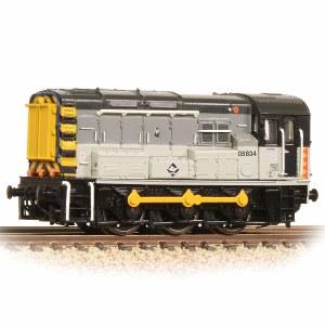 Graham Farish N 371-014 Class 08 08834 BR Railfreight Distribution