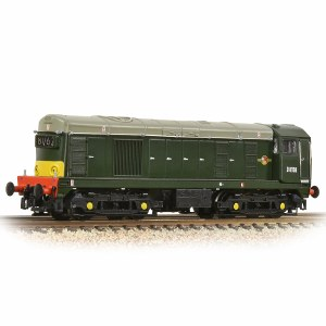 Graham Farish N 371-038 Class 20 D8158 BR Green Headcode Box Small Yellow Panel
