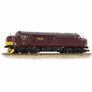 Graham Farish N 371-172 Class 37/5 Refurbished 37669 WCRC Maroon