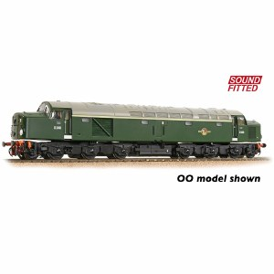 Graham Farish N 371-180ASF Class 40 Disc Headcode D248 BR Green (Late Crest) - Sound Fitted