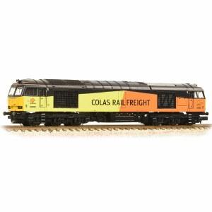 Graham Farish N 371-358A Class 60 60096 Colas Rail Freight
