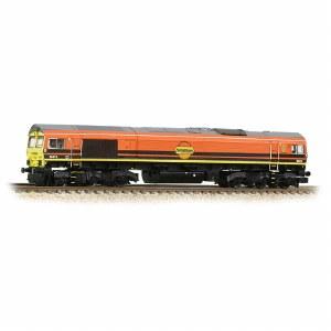 Graham Farish N 371-388 Class 66/4 66419  Freightliner G&W