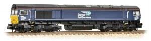 Graham Farish N 371-397 Class 66 66434 DRS Plain Blue Compass