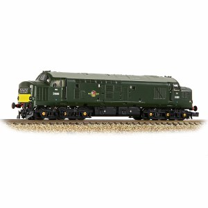Graham Farish N 371-453A Class 37/0 Centre Headcode D6984 BR Green (Small Yellow Panels)