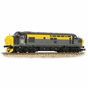Graham Farish N 371-466A Class 37/0 Split Headcode 37046 BR Engineers Grey & Yellow