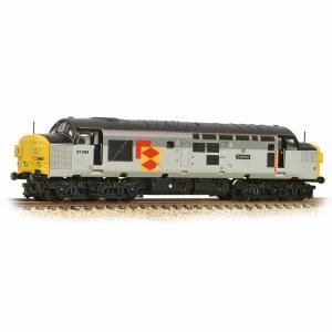 Graham Farish N 371-470 Class 37/0 37068 'Grainflow' BR Railfreight Distribution Split Headcode