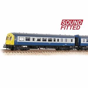 Graham Farish N 371-506SF Class 101 2-Car DMU BR Blue & Grey - Sound Fitted
