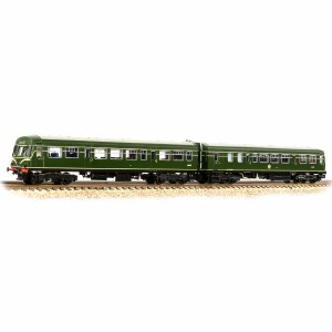Graham Farish N 371-508 Class 101 2-Car DMU BR Green (Speed Whiskers)